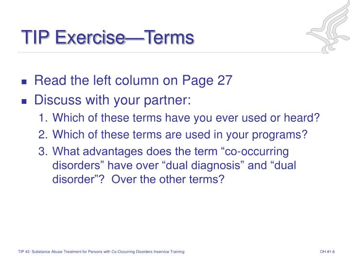 TIP Exercise—Terms