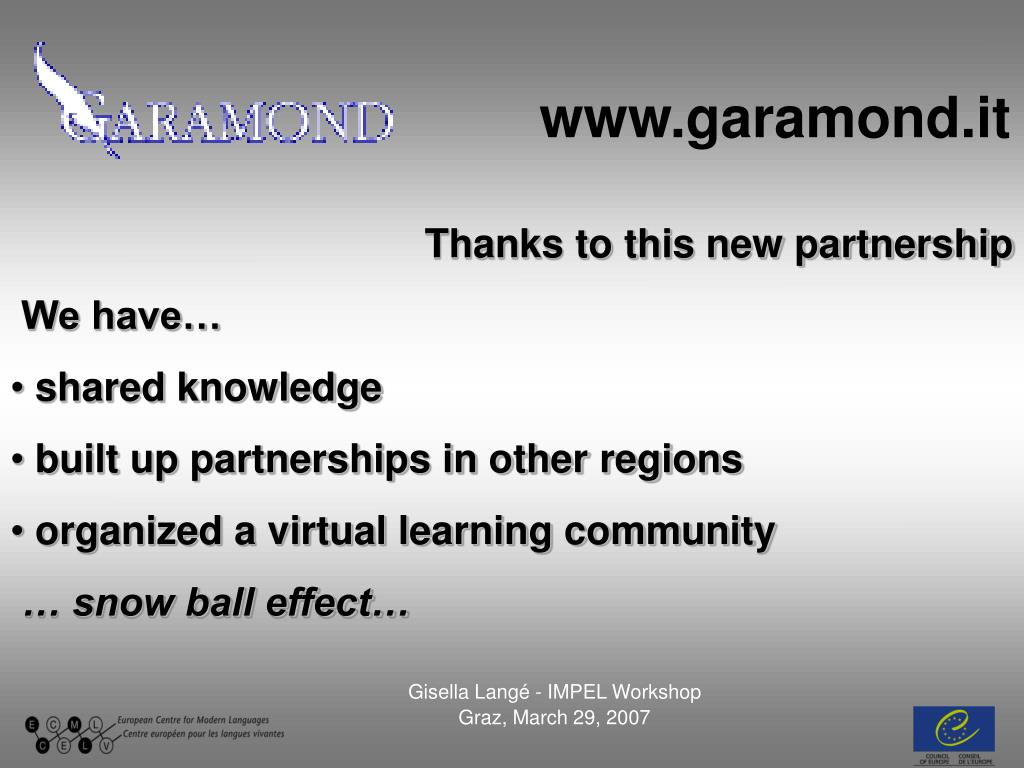 www.garamond.it