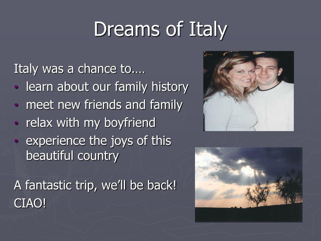 Dreams of Italy