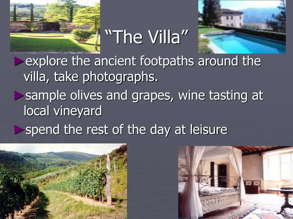 """""""The Villa"""""""