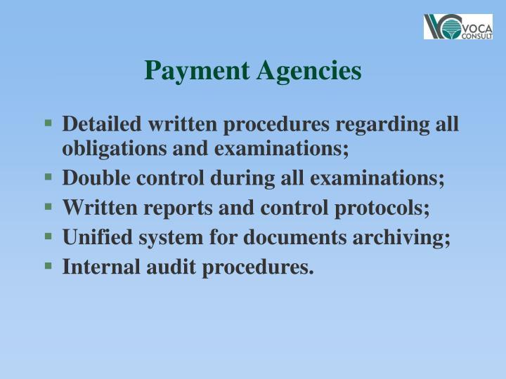 Payment Agencies
