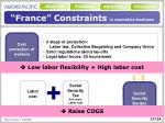 france constraints in cosmetics business17