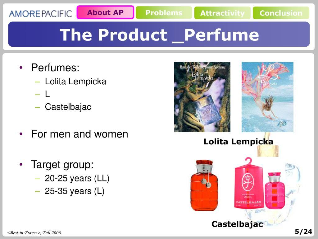 Perfumes: