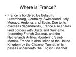 where is france