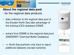 about the regional data pool for the regional data products