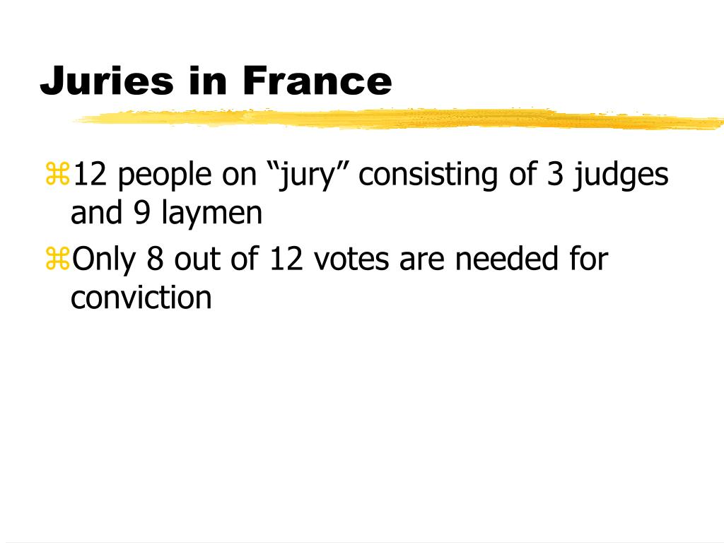 Juries in France