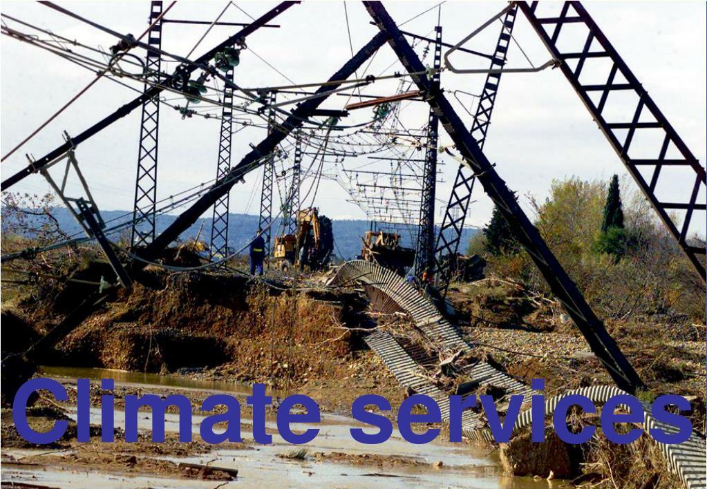 Climate services