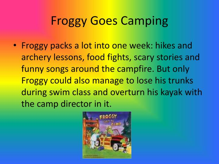 Froggy Goes Camping