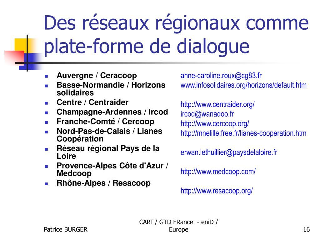 Auvergne / Ceracoop