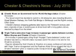 chester cheshire s news july 2010