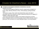 chester cheshire s news july 201016