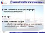 france strengths and weaknesses15