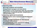 main attractiveness measures17