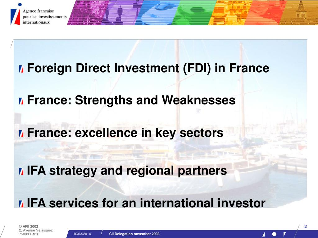 Foreign Direct Investment (FDI) in France