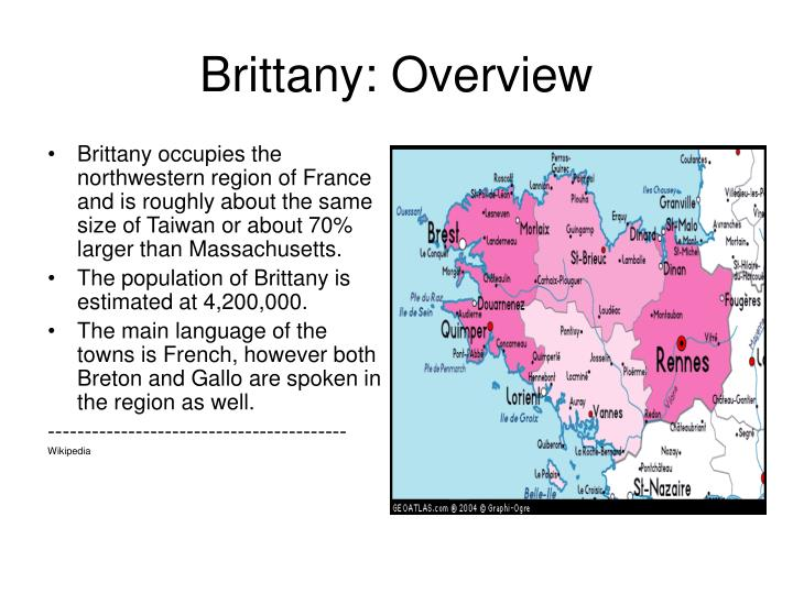 Brittany overview