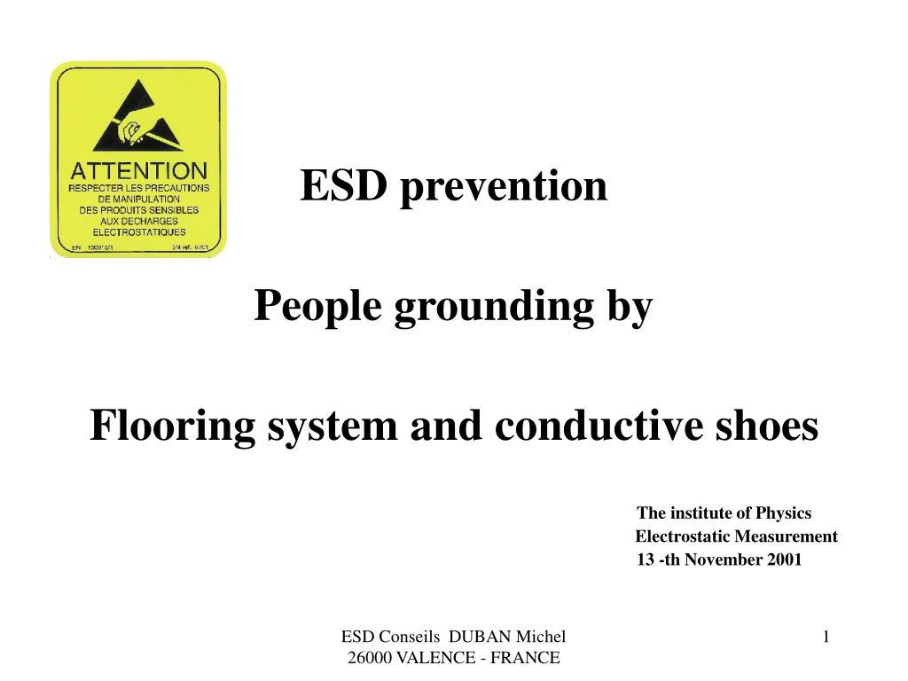 ESD prevention
