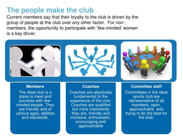The people make the club
