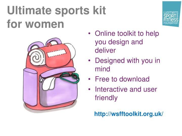 Ultimate sports kit