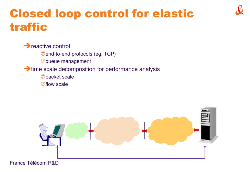 Closed loop control for elastic traffic