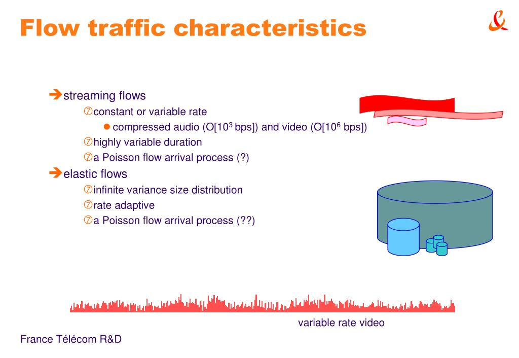 Flow traffic characteristics