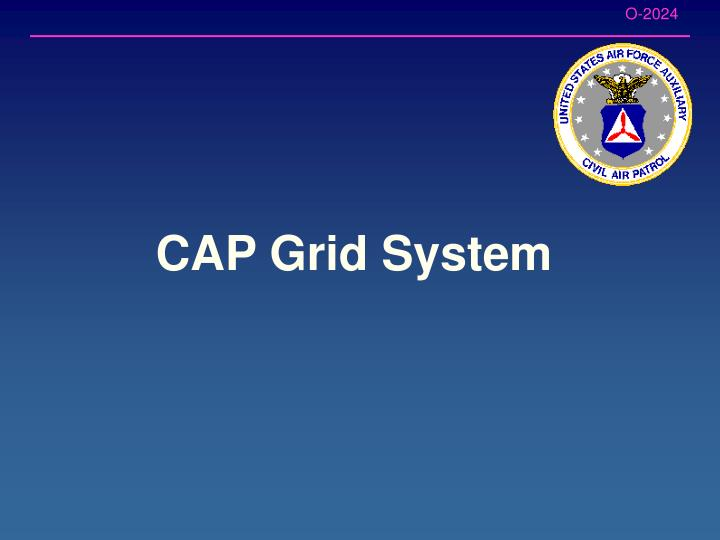 CAP Grid System