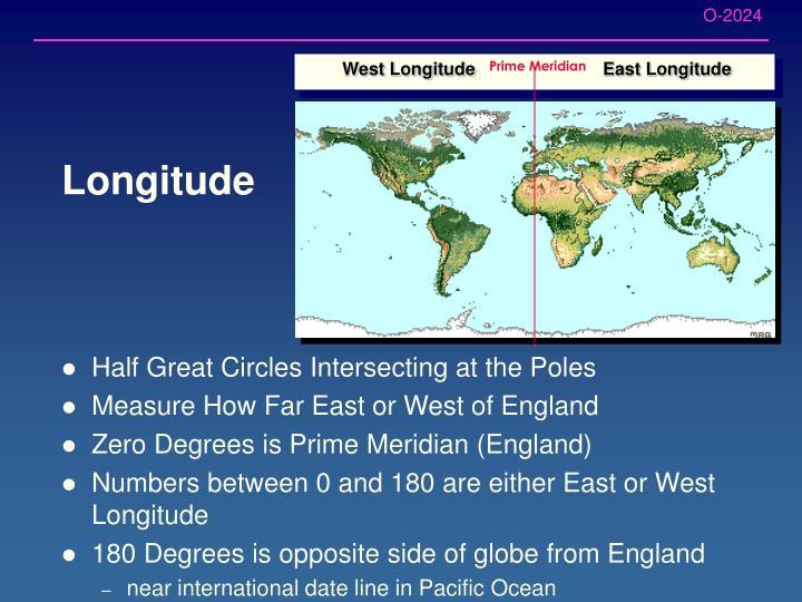 West Longitude