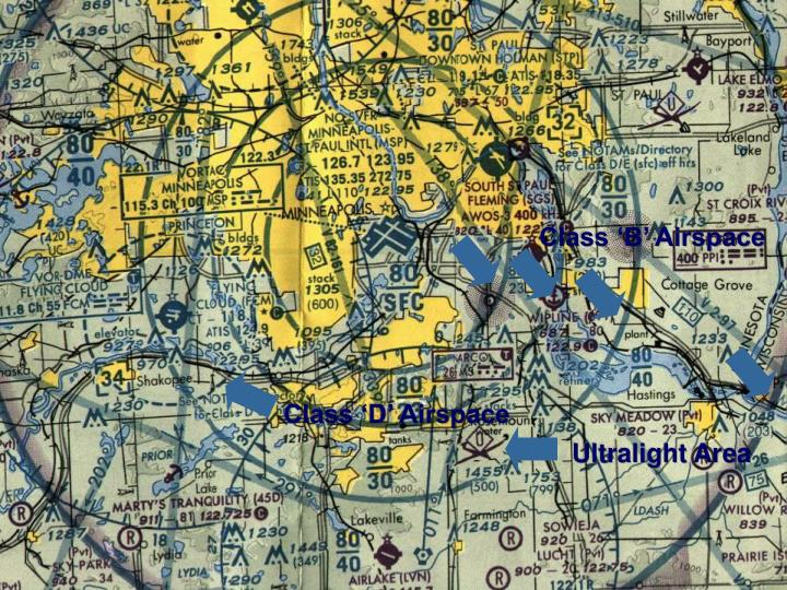 Class 'B' Airspace