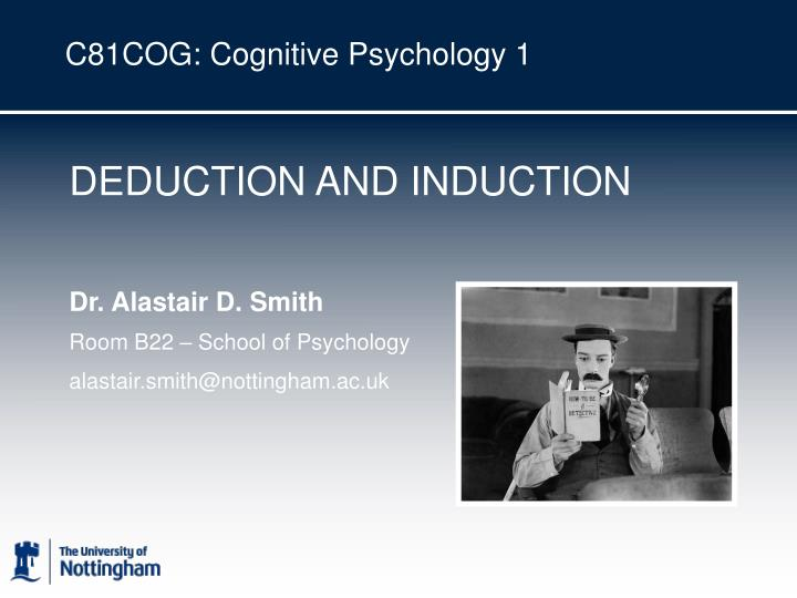 C81cog cognitive psychology 1