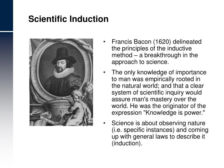 Scientific Induction
