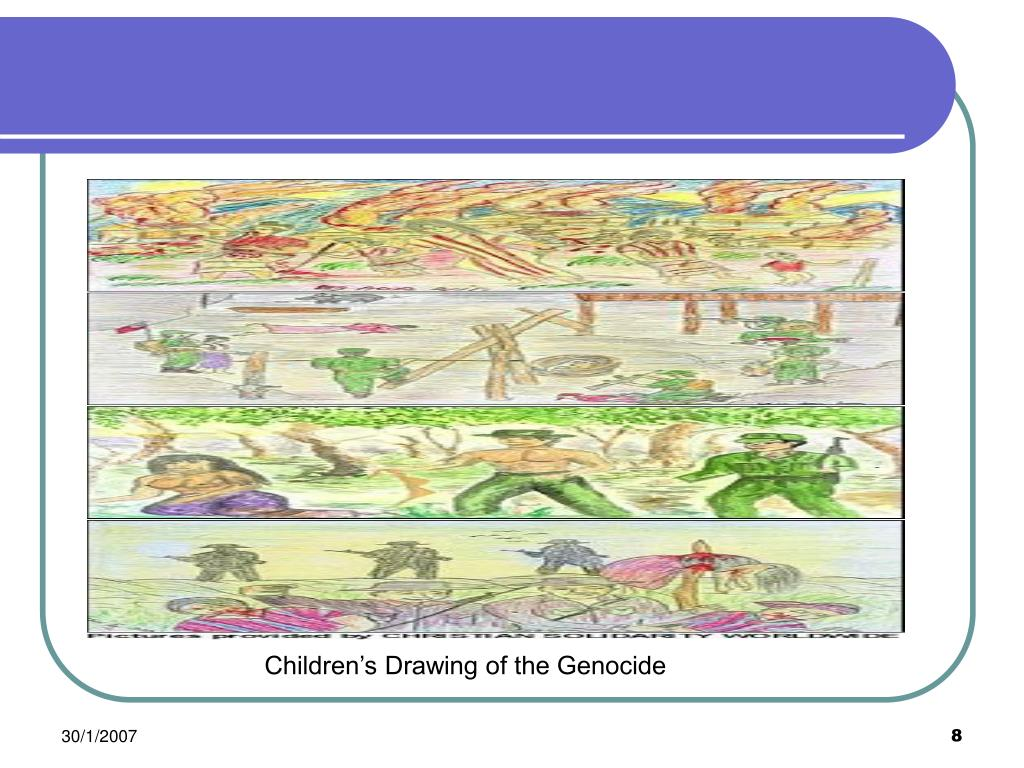 Children's Drawing of the Genocide