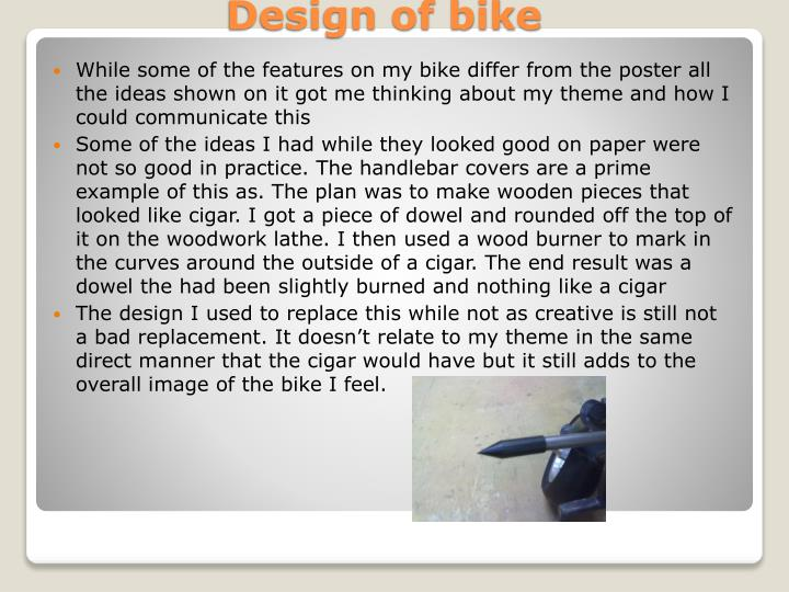 Design of bike1