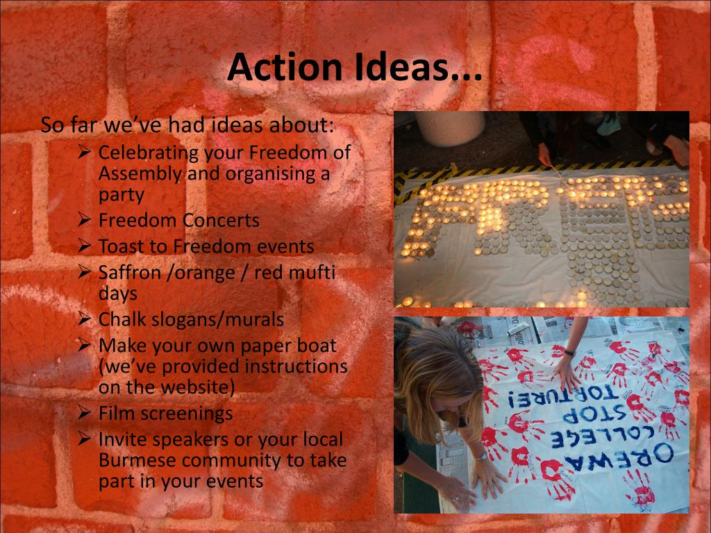 Action Ideas...