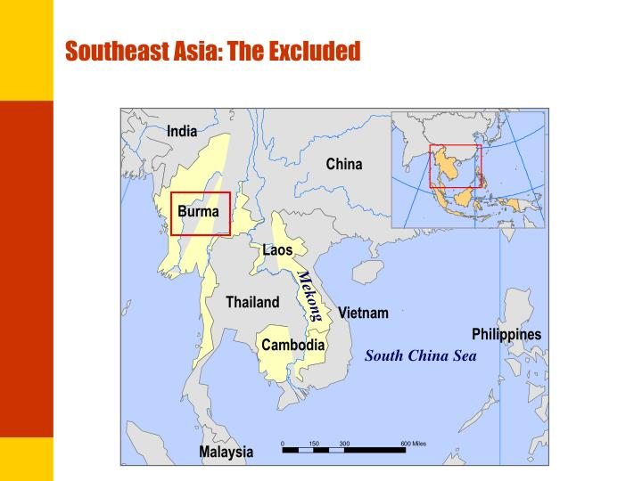 Southeast asia the excluded
