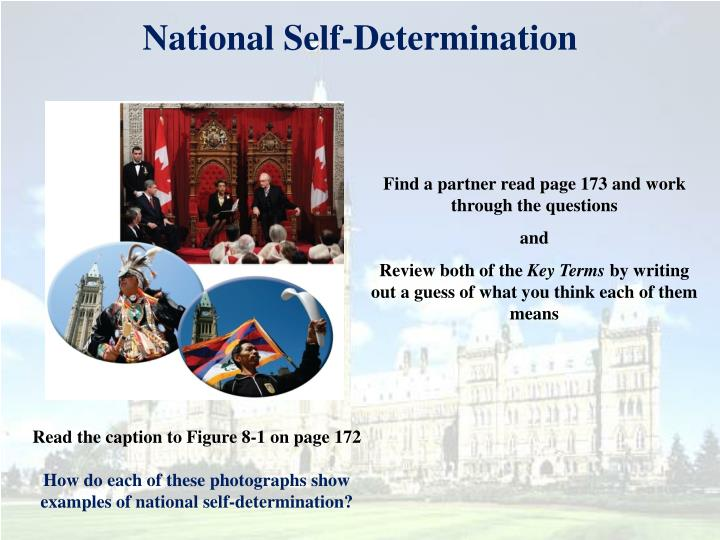 National self determination