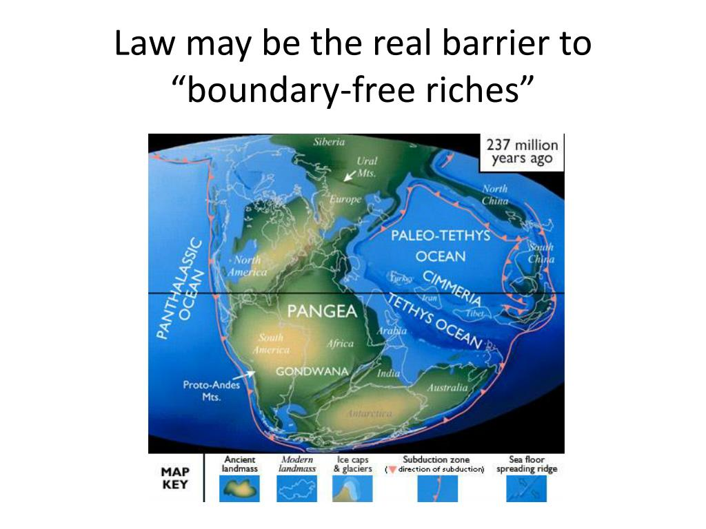 "Law may be the real barrier to ""boundary-free riches"""