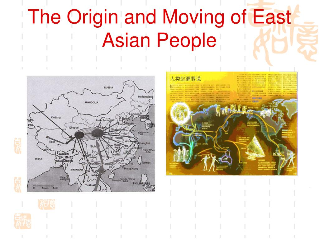 The Origin and Moving of East Asian People