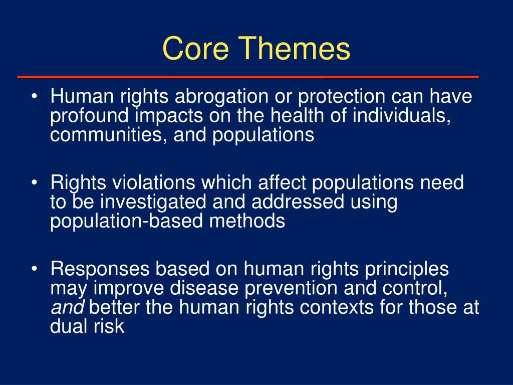 Core Themes