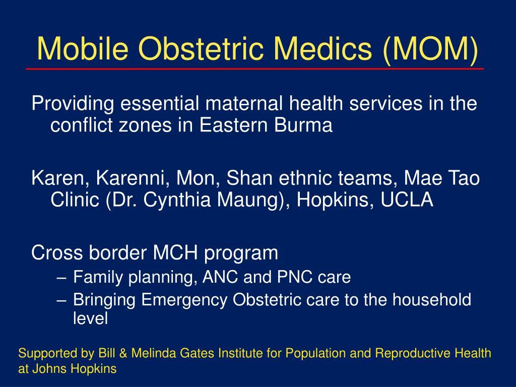 Mobile Obstetric Medics (MOM)