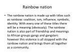 rainbow nation