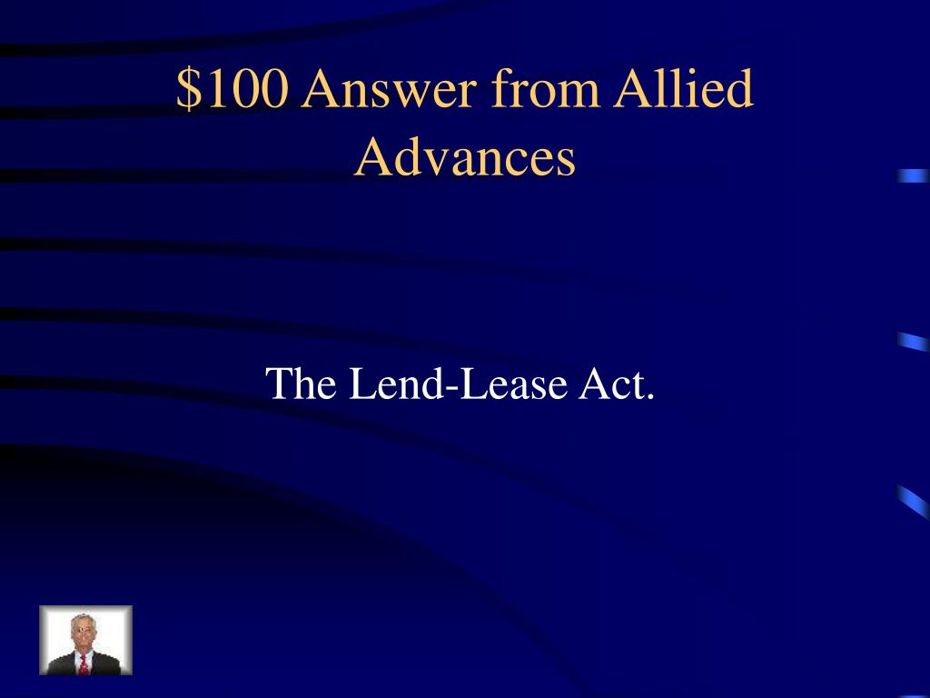 $100 Answer from Allied Advances