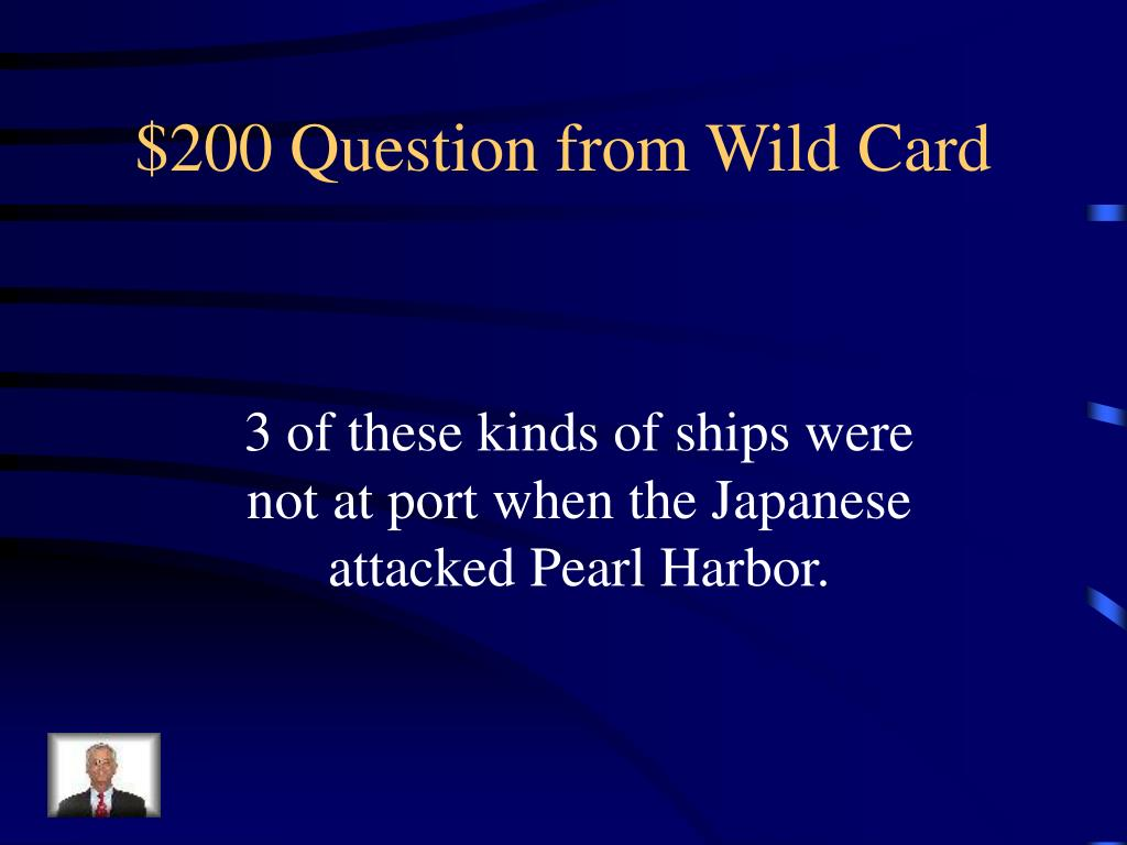 $200 Question from Wild Card