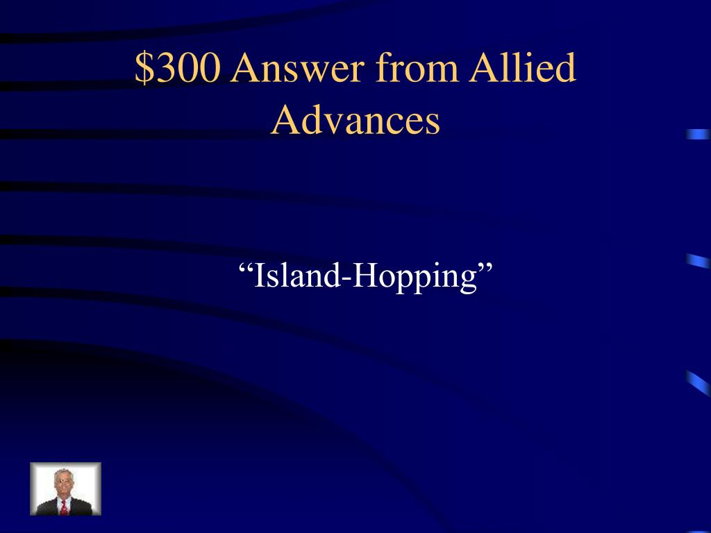 $300 Answer from Allied Advances