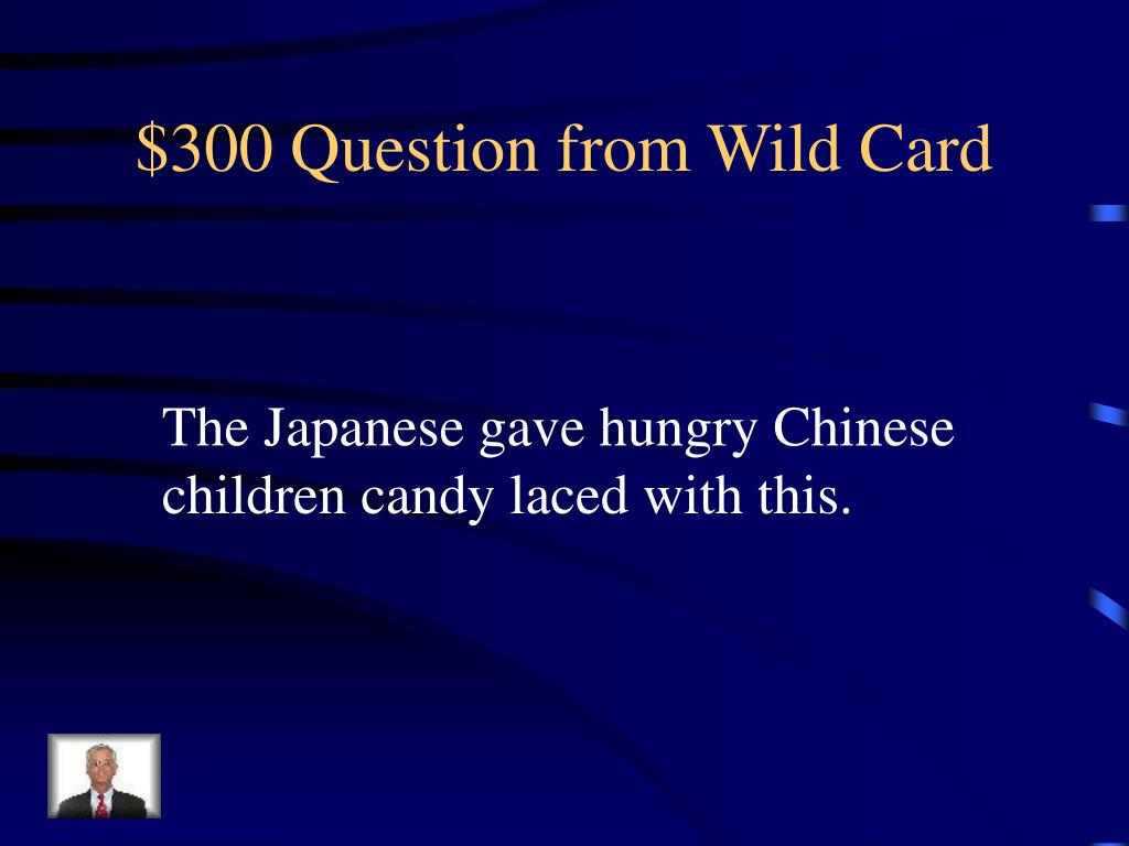 $300 Question from Wild Card