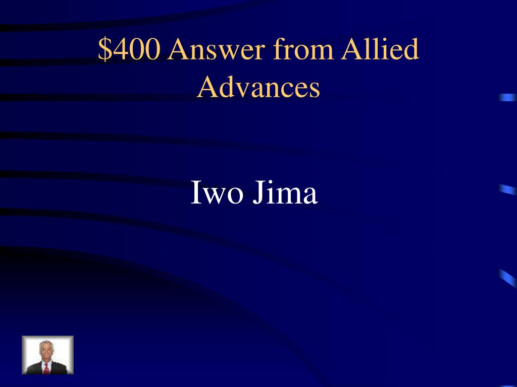$400 Answer from Allied Advances