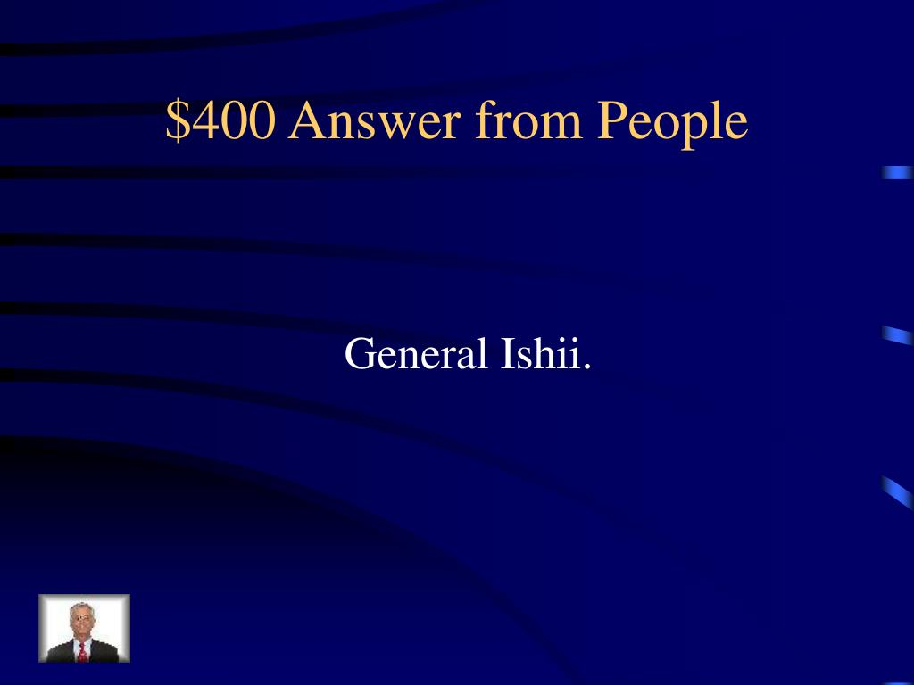 $400 Answer from People