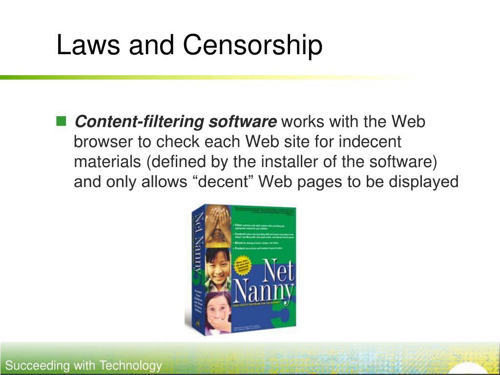 Laws and Censorship