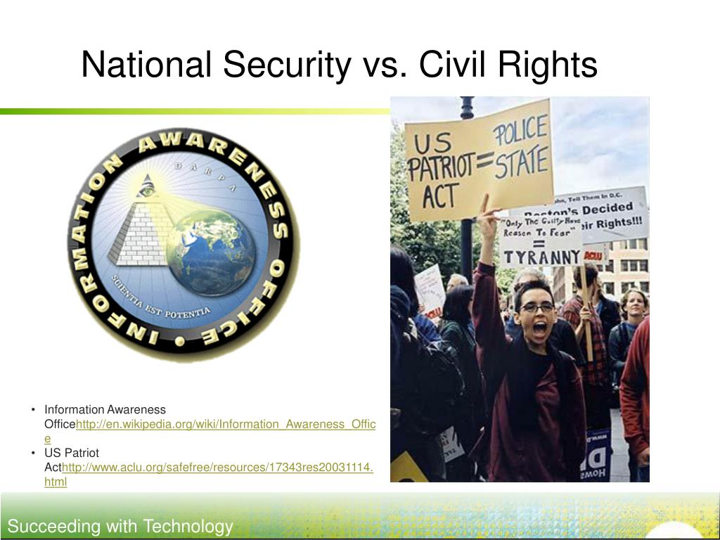 National Security vs. Civil Rights
