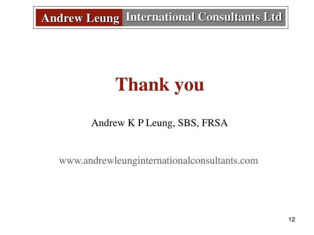 Andrew Leun