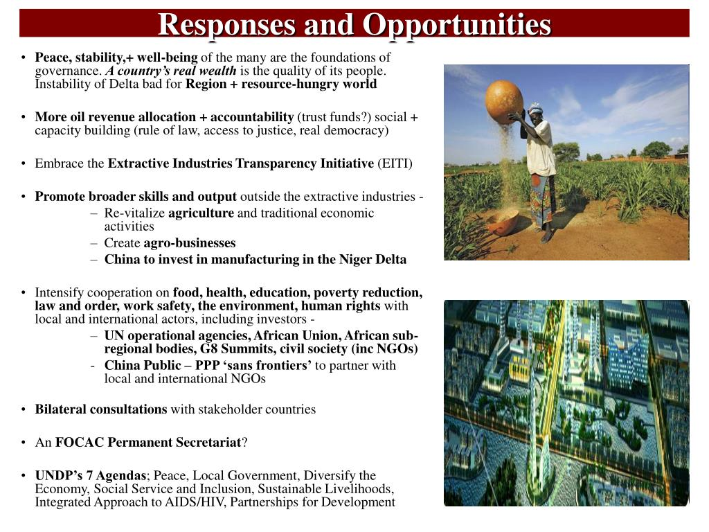Responses and Opportunities