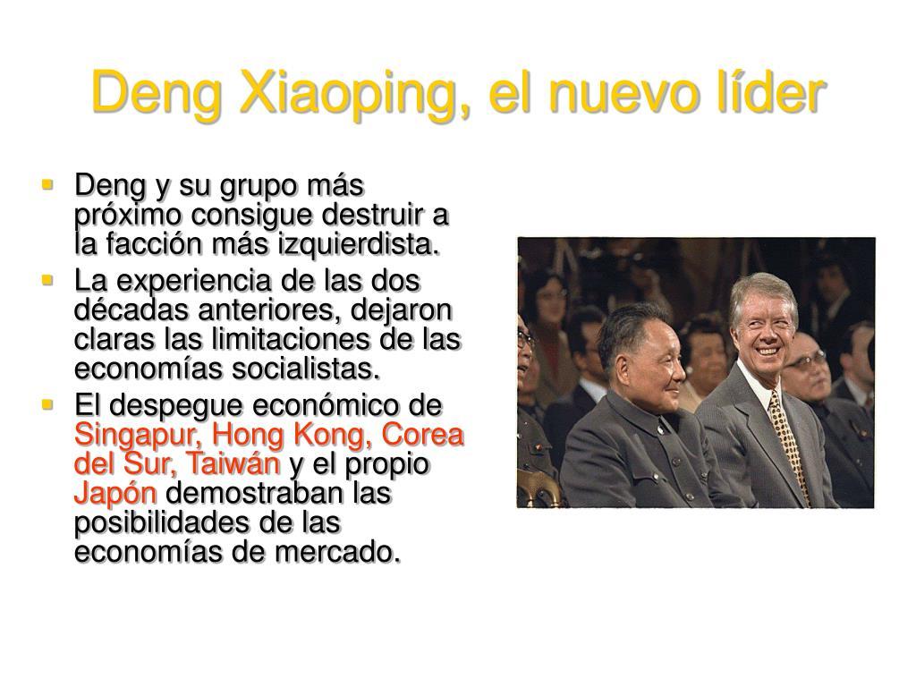 Deng Xiaoping, el nuevo líder